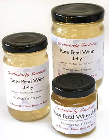 Rose Petal  Wine Jelly