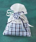 Lavender Bag: Blue decorative