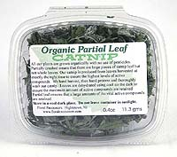 Organic Partial  Leaf Catnip