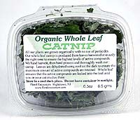 Organic Whole Leaf Catnip