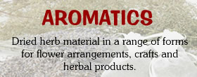Natural organic Aromatic Dried Material